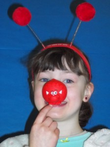 Natalia won the Funny Face Photos Competition in P1-3