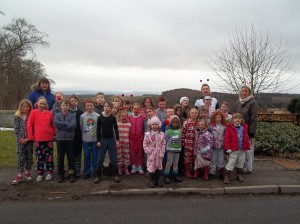 Our Sponsored Pyjama Parade